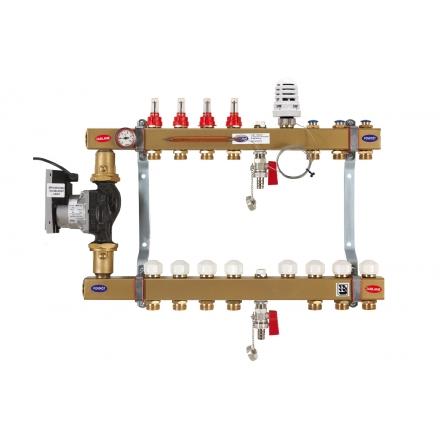 ogrzewanie podłogowe i grzejnikowe układ podwójny uniwersalny stalowy Gorgiel DRS PTMe